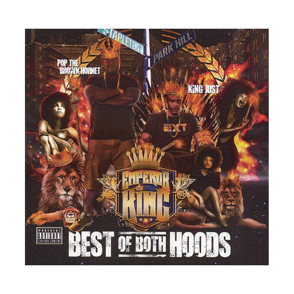 Pop Da Brown Hornet & King Just - 'Best Of Both Hoods' [CD]