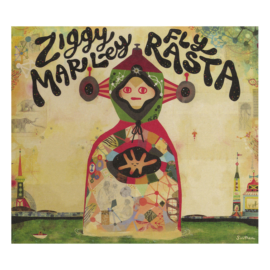 <!--120140415062860-->Ziggy Marley - 'Fly Rasta' [CD]