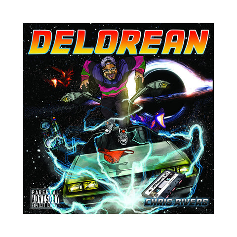 Chris Rivers - 'Delorean' [CD]