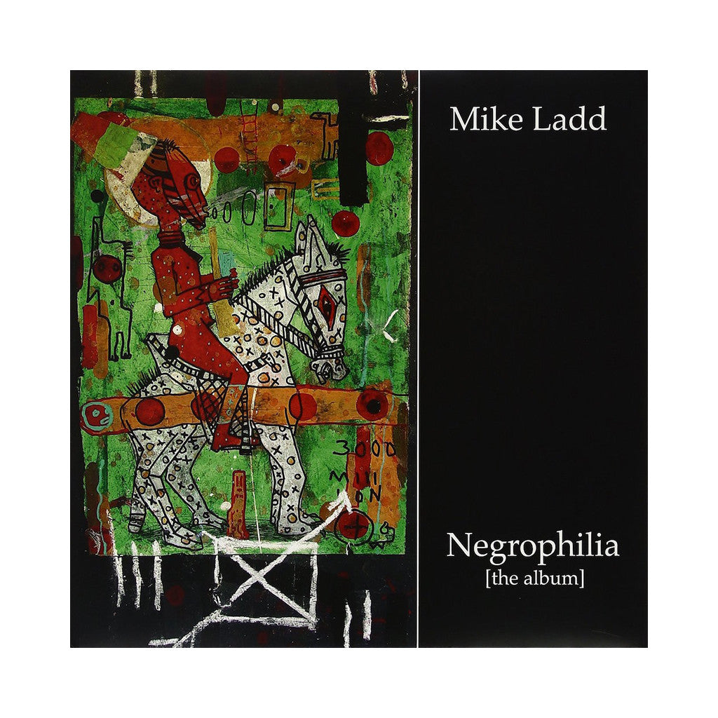 Mike Ladd - 'Negrophilia (the album)' [(Black) Vinyl LP]