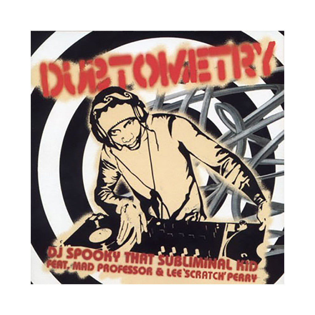 <!--020030318018016-->DJ Spooky - 'Dubtometry (Optometry Remixes)' [(Black) Vinyl LP]
