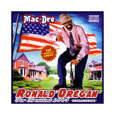 Mac Dre - 'Ronald Dregan: Dreganomics' [(Red, White & Blue Starburst) Vinyl [2LP]]