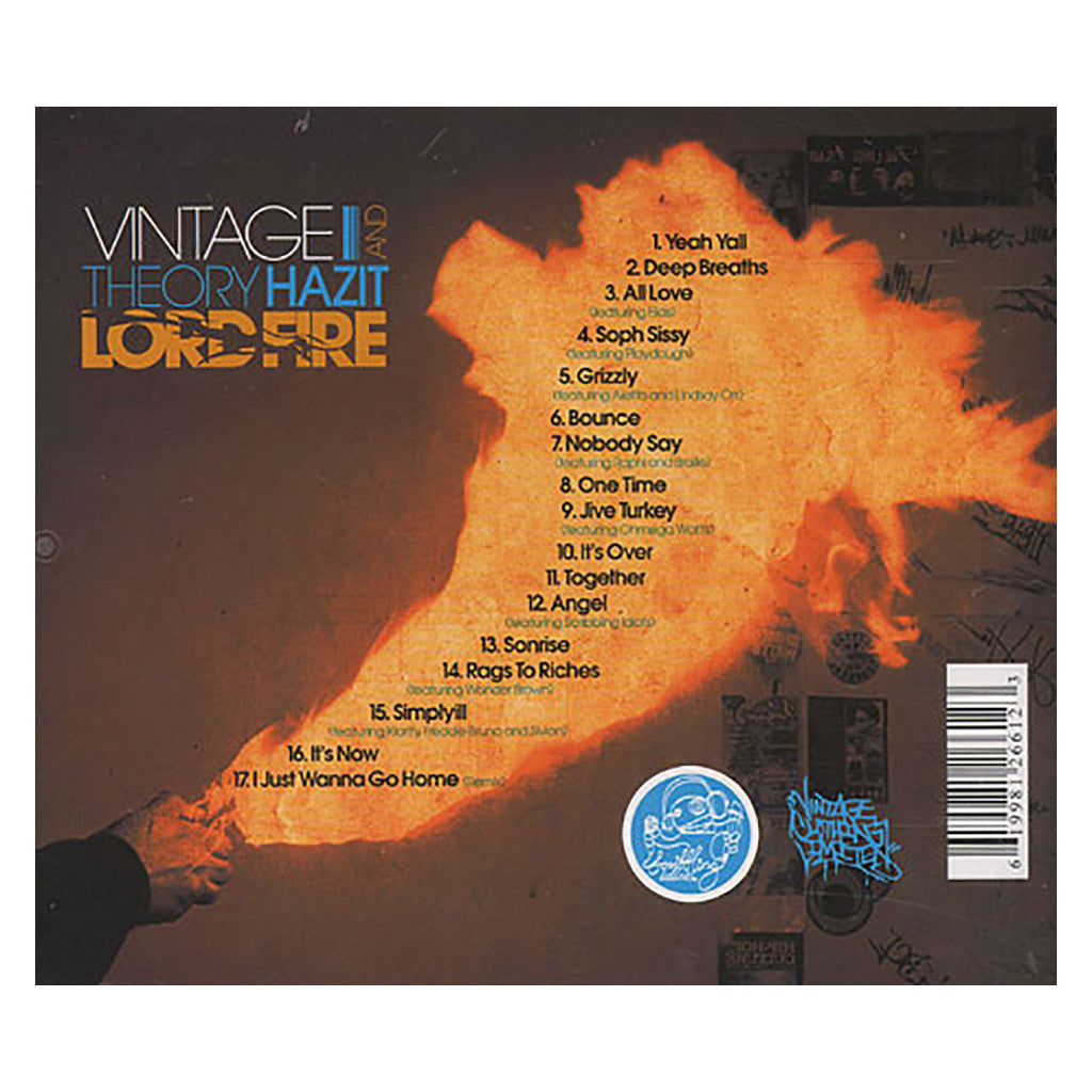 Vintage & Theory Hazit - 'Lord Fire' [CD]