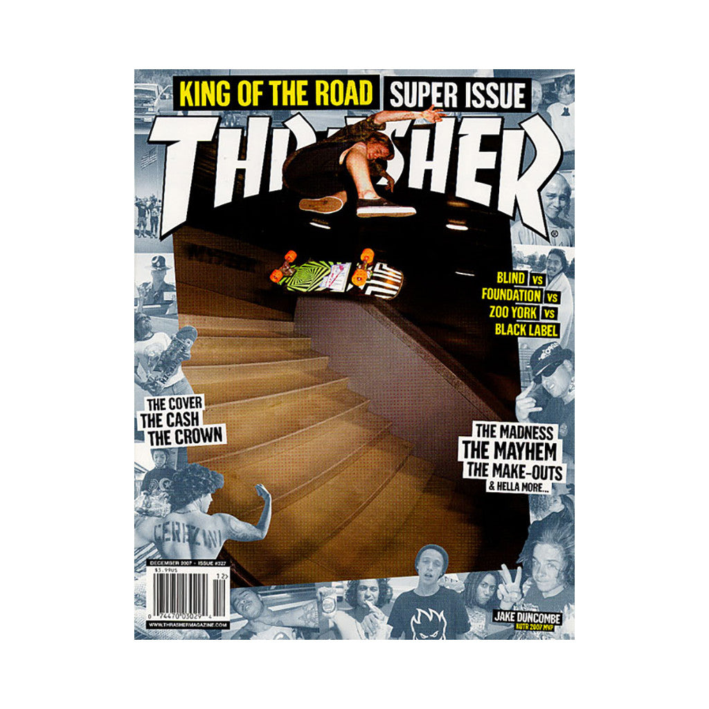 <!--020071106010931-->Thrasher Magazine - 'Issue 327, December 2007' [Magazine]