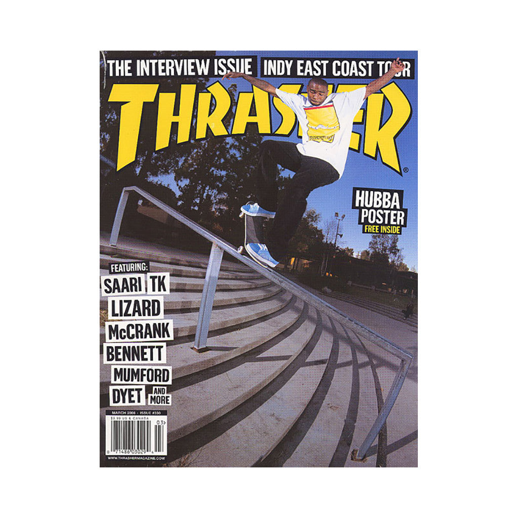 <!--020080212012970-->Thrasher Magazine - 'Issue 330, March 2008' [Magazine]