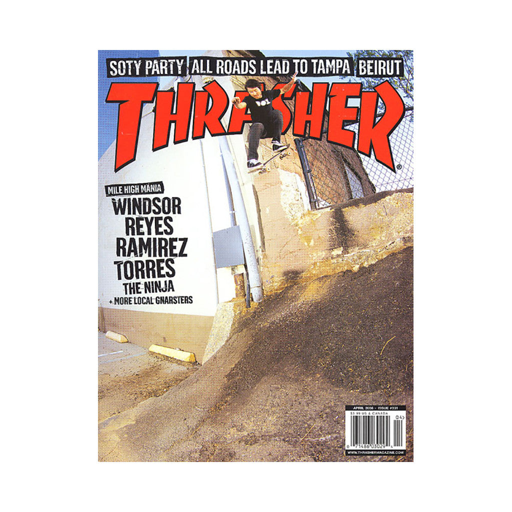 <!--020080325013342-->Thrasher Magazine - 'Issue 331, April 2008' [Magazine]