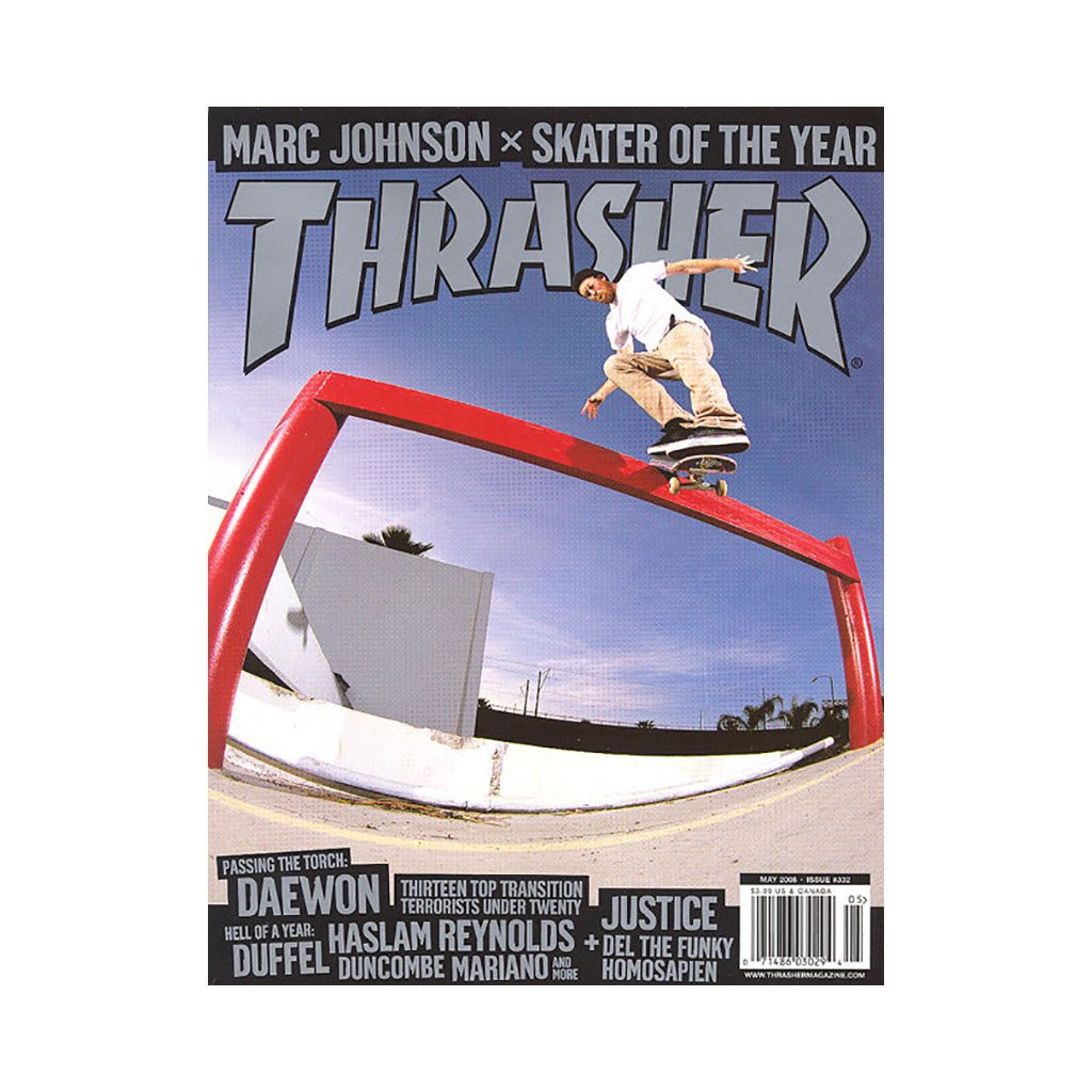 <!--020080415013501-->Thrasher Magazine - 'Issue 332, May 2008' [Magazine]