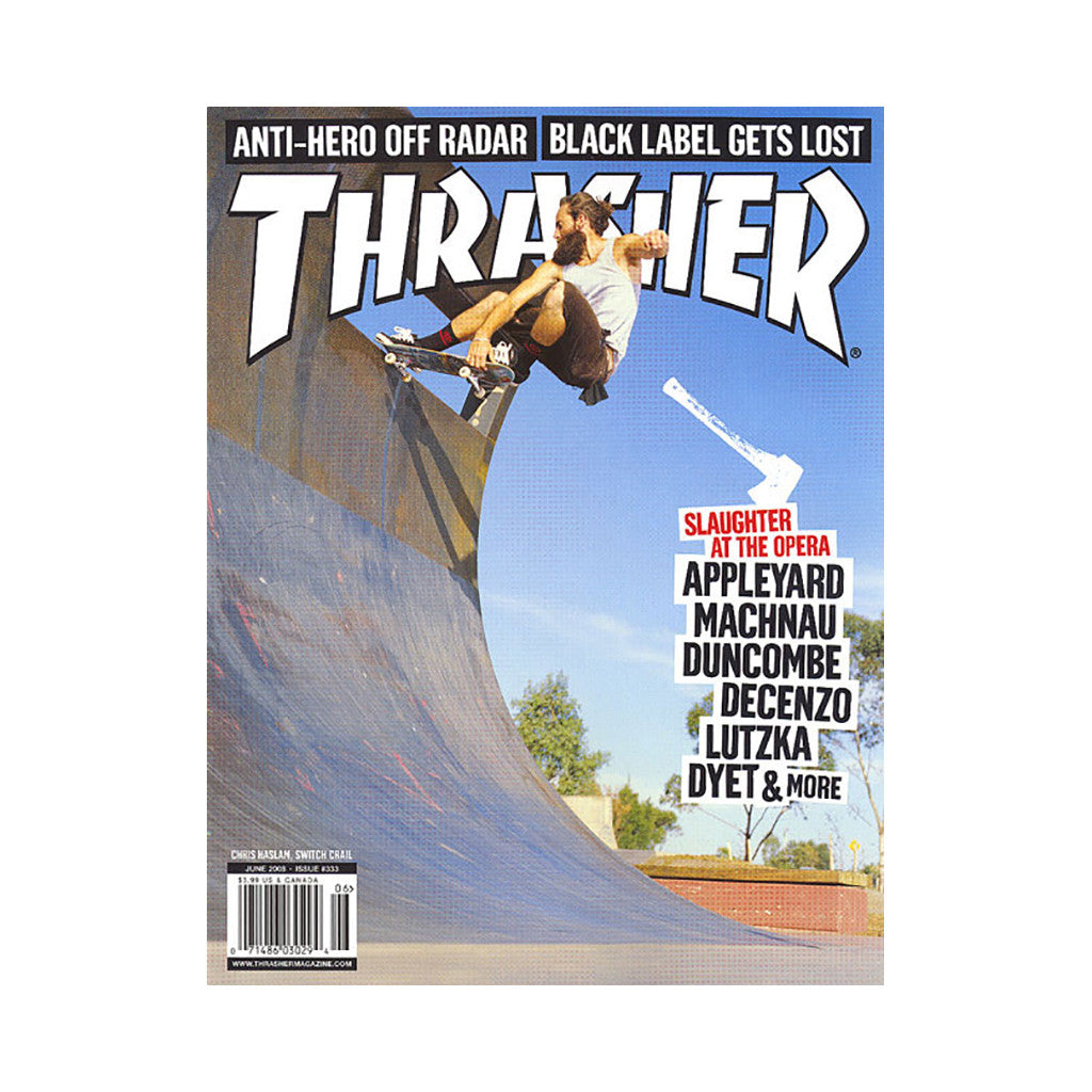 <!--020080506013720-->Thrasher Magazine - 'Issue 333, June 2008' [Magazine]
