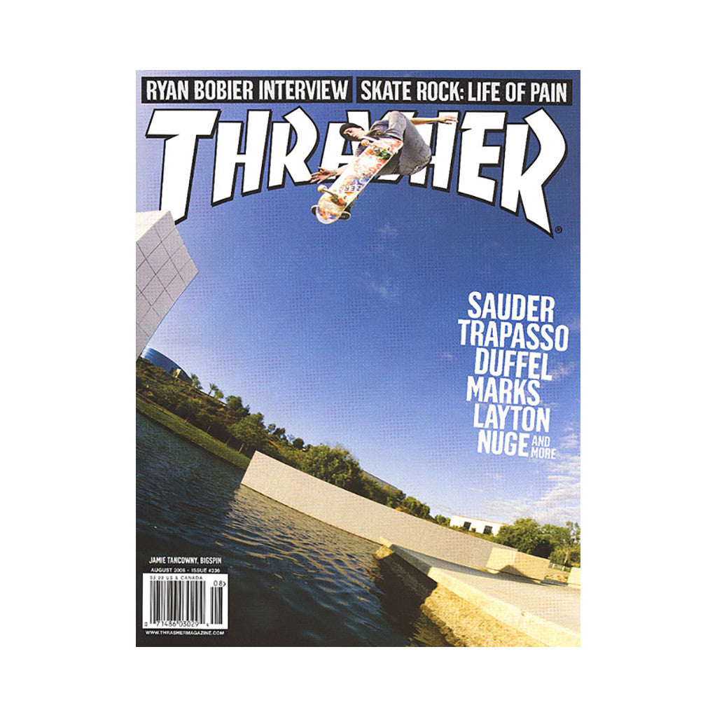<!--020080708014253-->Thrasher Magazine - 'Issue 336, August 2008' [Magazine]