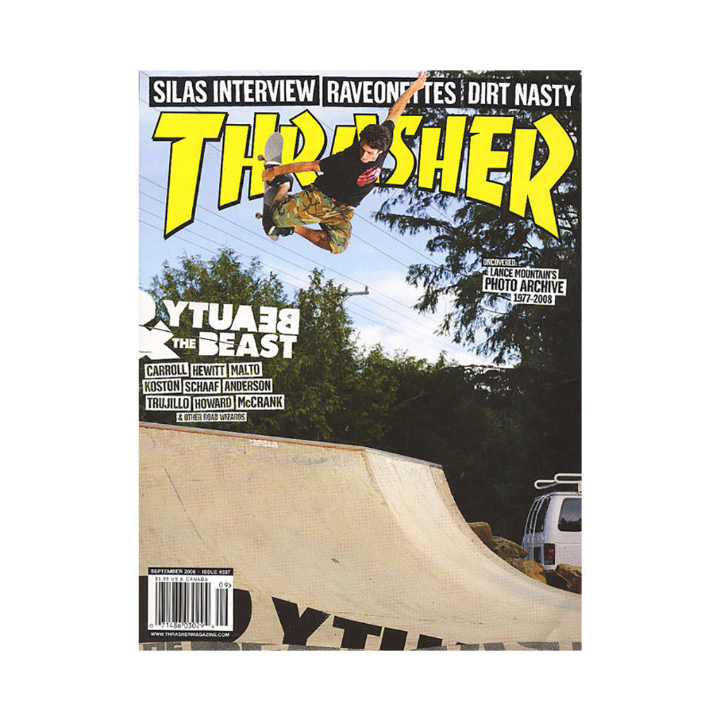 <!--020080729014446-->Thrasher Magazine - 'Issue 337, September 2008' [Magazine]
