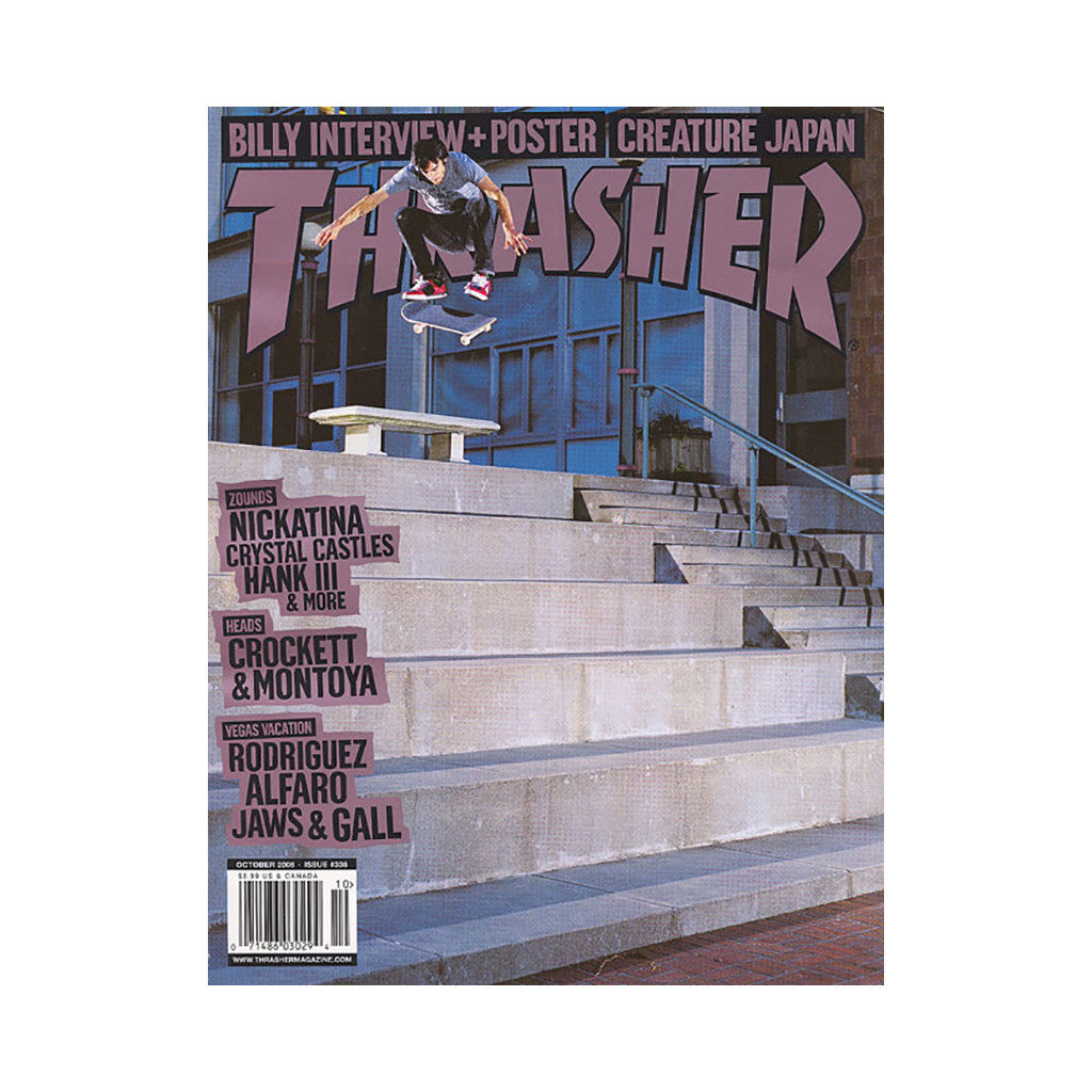 <!--020080930015012-->Thrasher Magazine - 'Issue 338, October 2008' [Magazine]