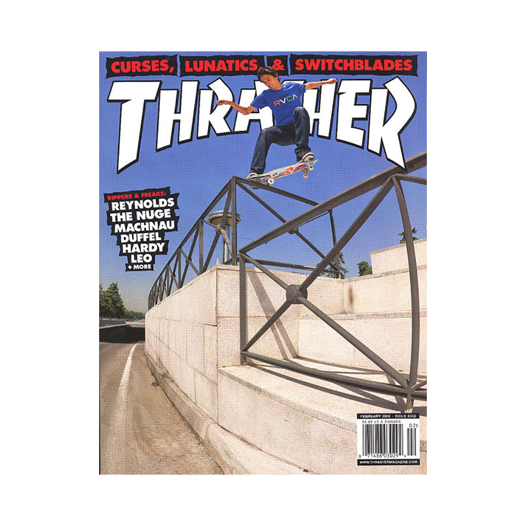 <!--020090106015728-->Thrasher Magazine - 'Issue 342, February 2009' [Magazine]