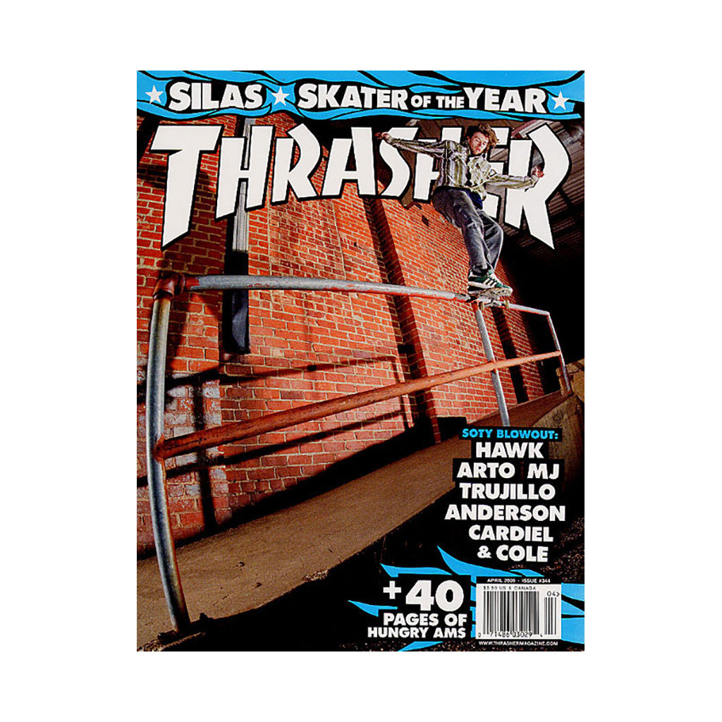 <!--020090317016338-->Thrasher Magazine - 'Issue 344, April 2009' [Magazine]