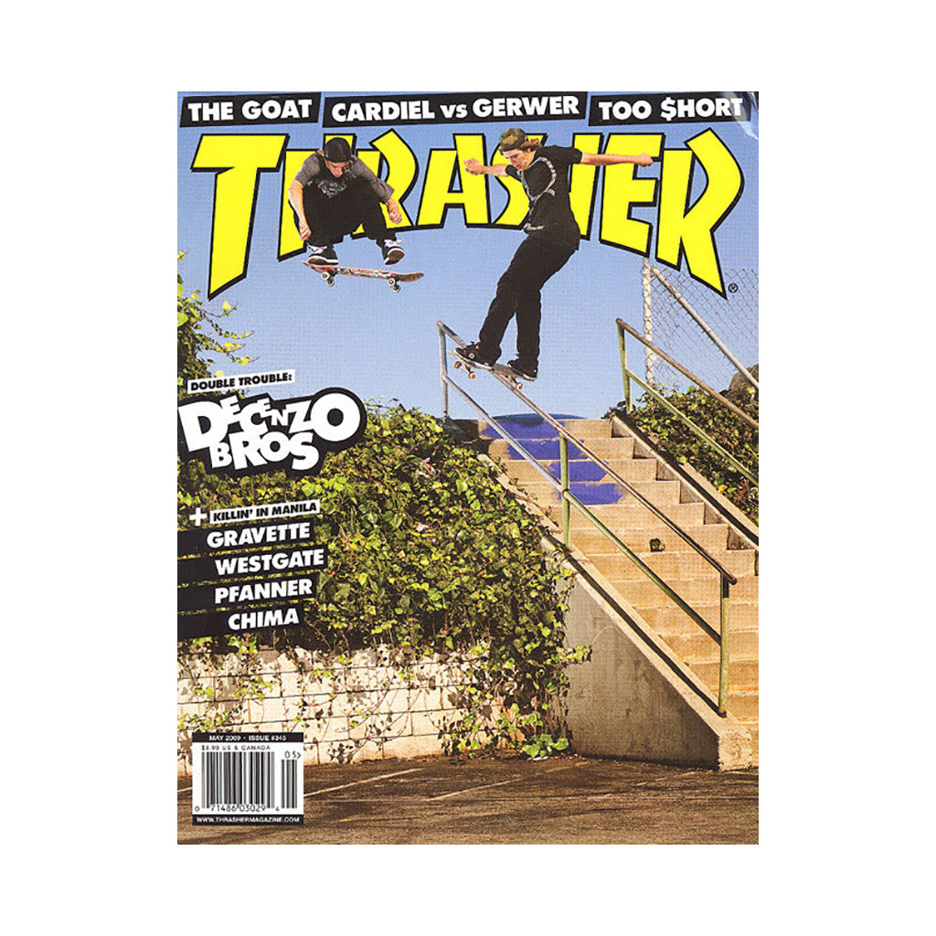<!--020090407016501-->Thrasher Magazine - 'Issue 345, May 2009' [Magazine]