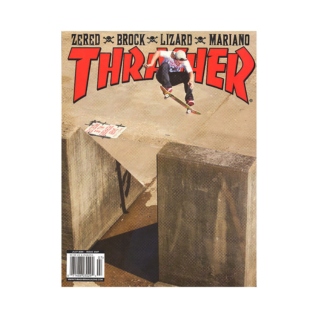 <!--020090609017195-->Thrasher Magazine - 'Issue 347, July 2009' [Magazine]