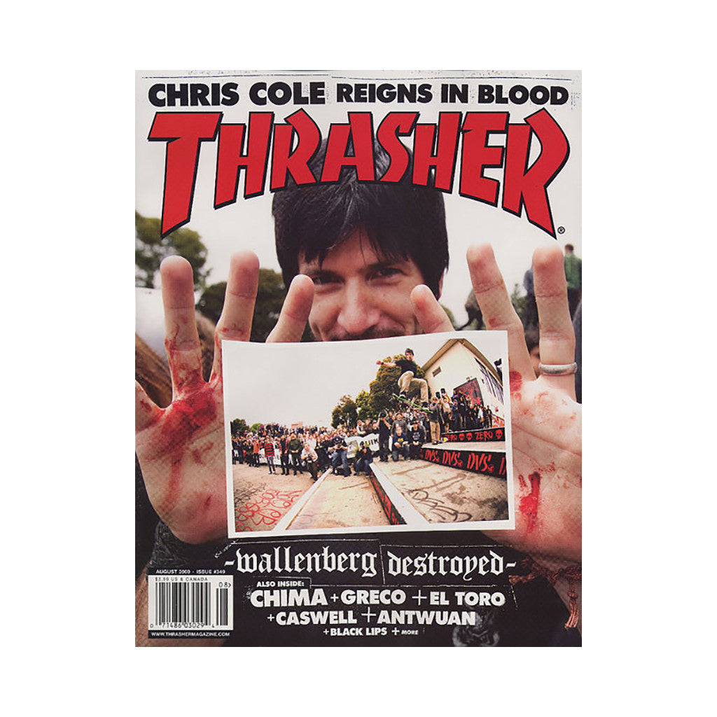 <!--020090707017475-->Thrasher Magazine - 'Issue 349, August 2009' [Magazine]