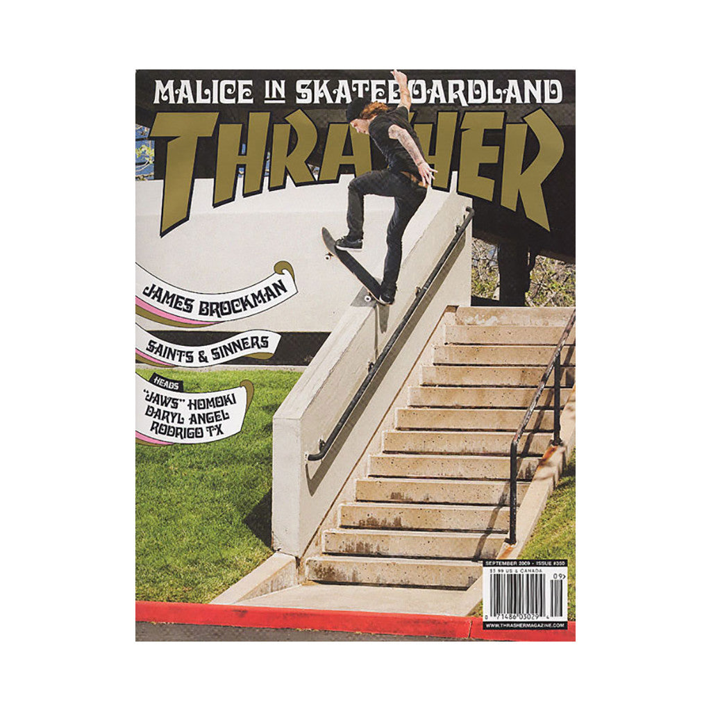 <!--020090804017822-->Thrasher Magazine - 'Issue 350, September 2009' [Magazine]