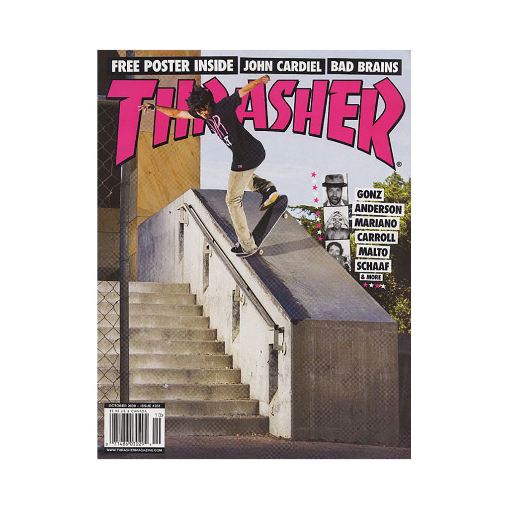 <!--020090915018246-->Thrasher Magazine - 'Issue 351, October 2009' [Magazine]