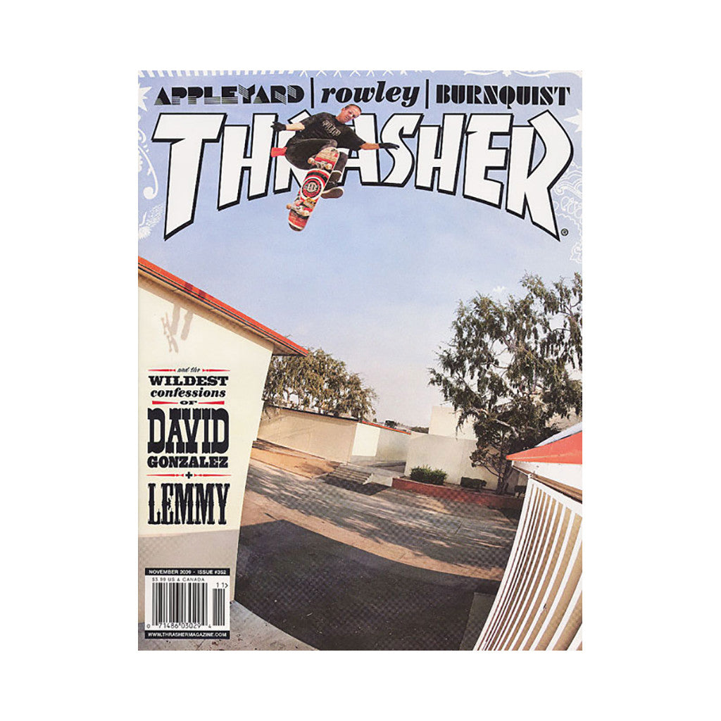 <!--020091013018582-->Thrasher Magazine - 'Issue 352, November 2009' [Magazine]
