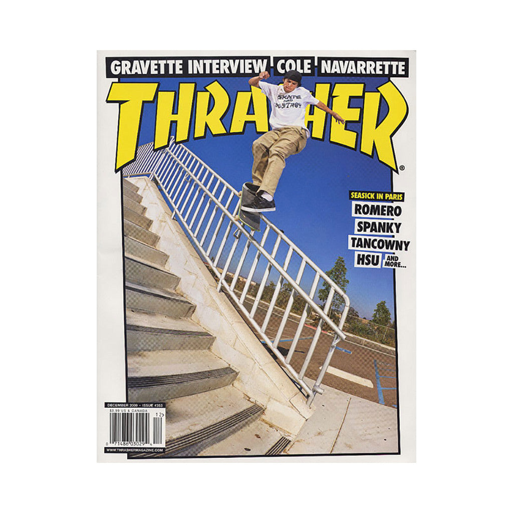 <!--020091027018795-->Thrasher Magazine - 'Issue 353, December 2009' [Magazine]