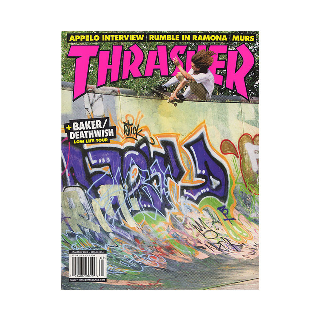 <!--020091215019252-->Thrasher Magazine - 'Issue 354, January 2010' [Magazine]
