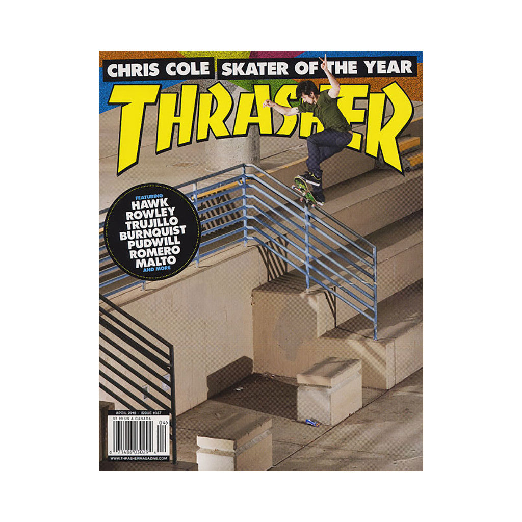 <!--020100309020280-->Thrasher Magazine - 'Issue 357, April 2010' [Magazine]