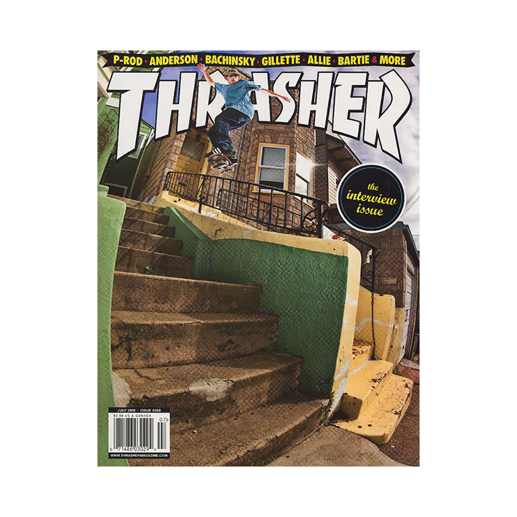 <!--020100601021763-->Thrasher Magazine - 'Issue 360, July 2010' [Magazine]