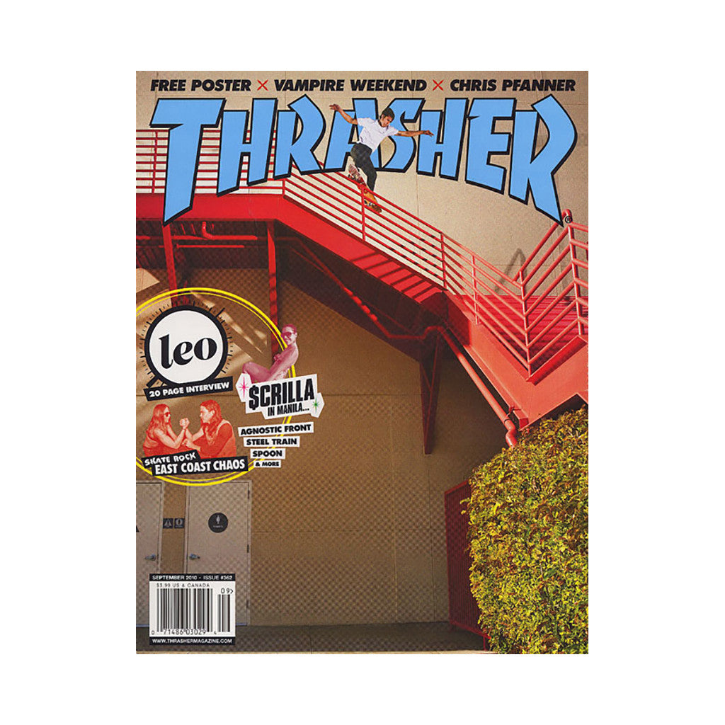 Thrasher Magazine - 'Issue 362, September 2010' [Magazine]