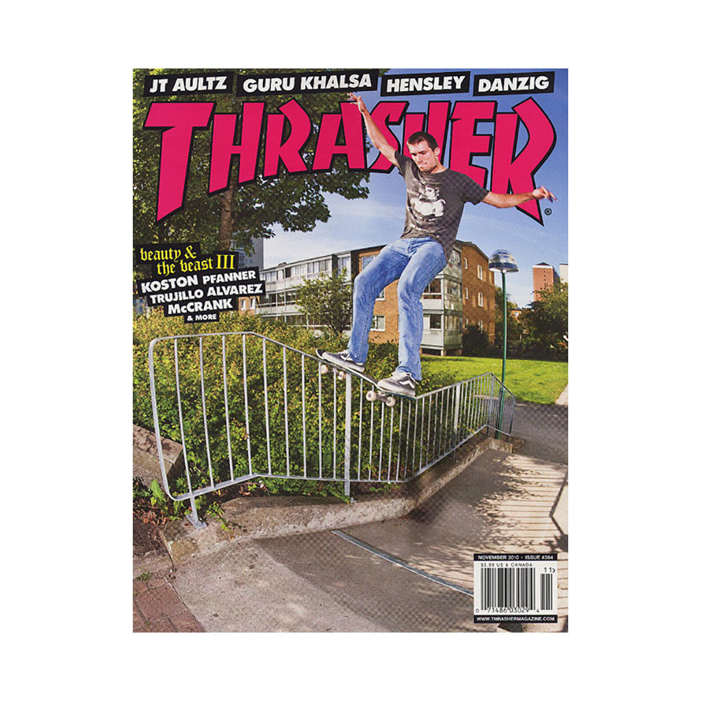 <!--020101005023935-->Thrasher Magazine - 'Issue 364, November 2010' [Magazine]