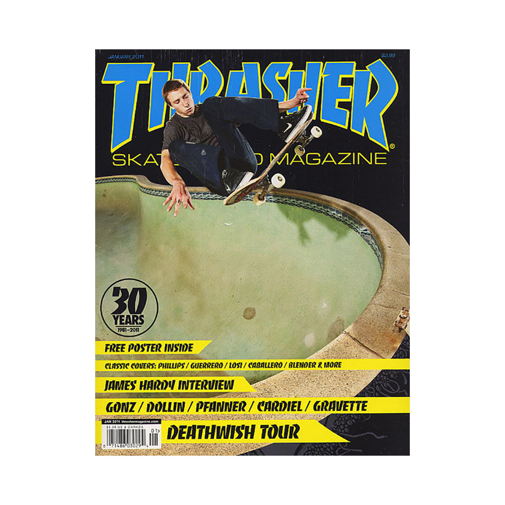 <!--020101130025704-->Thrasher Magazine - 'Issue 366, January 2011' [Magazine]
