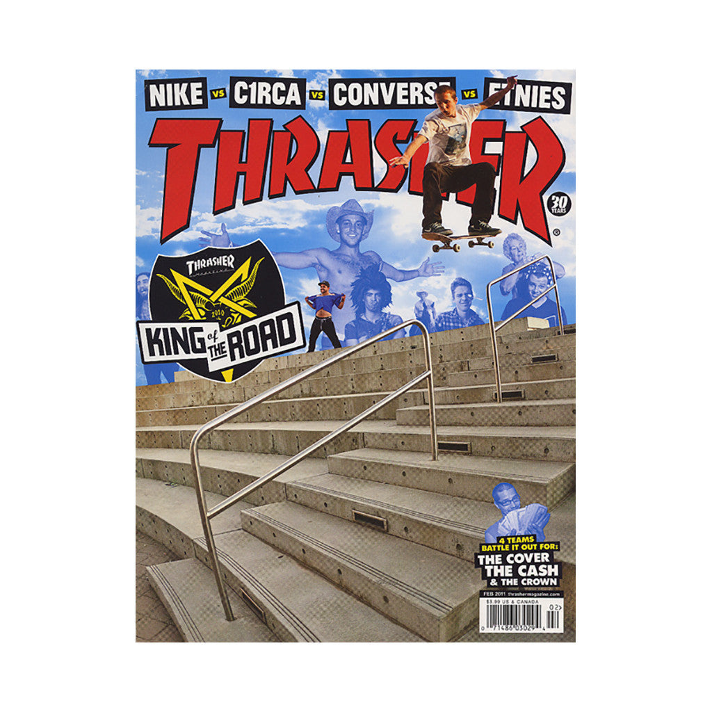 <!--020110104026996-->Thrasher Magazine - 'Issue 367, February 2011' [Magazine]