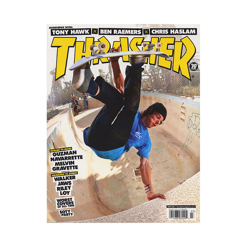 <!--020110125027404-->Thrasher Magazine - 'Issue 368, March 2011' [Magazine]