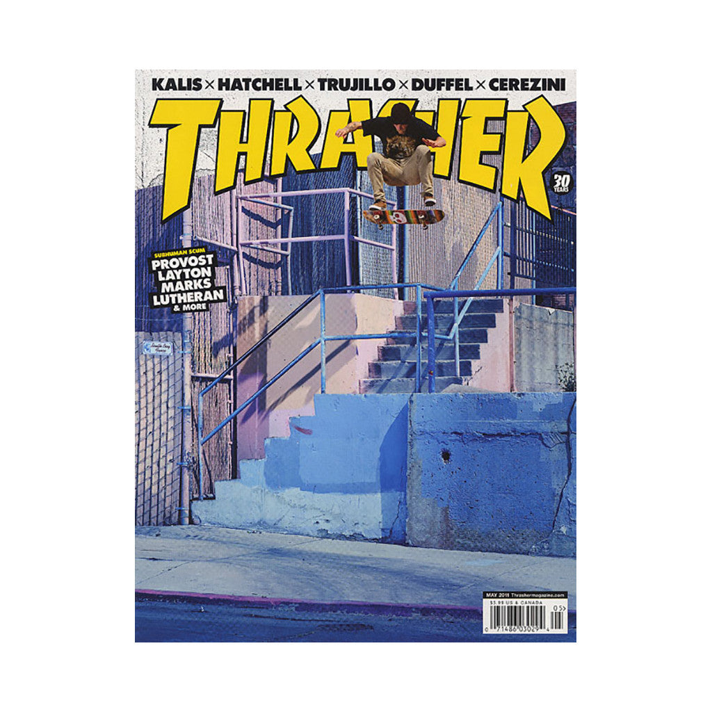 <!--020110329028236-->Thrasher Magazine - 'Issue 370, May 2011' [Magazine]