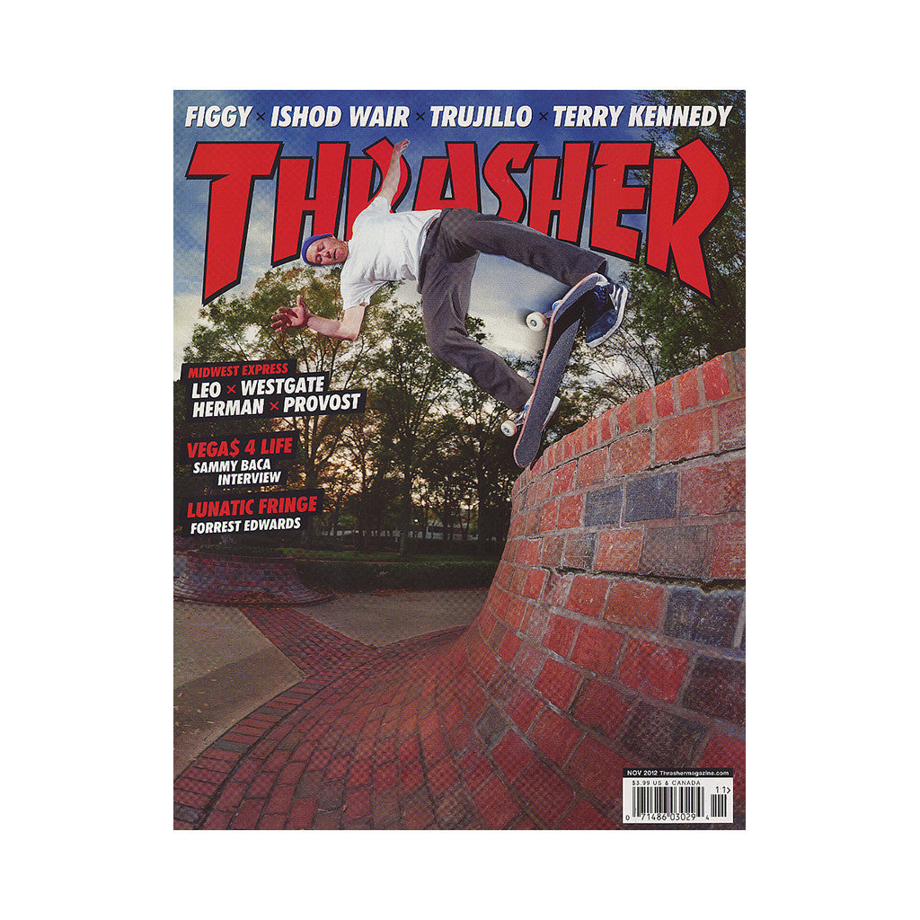 <!--020120925049310-->Thrasher Magazine - 'Issue 388, November 2012' [Magazine]