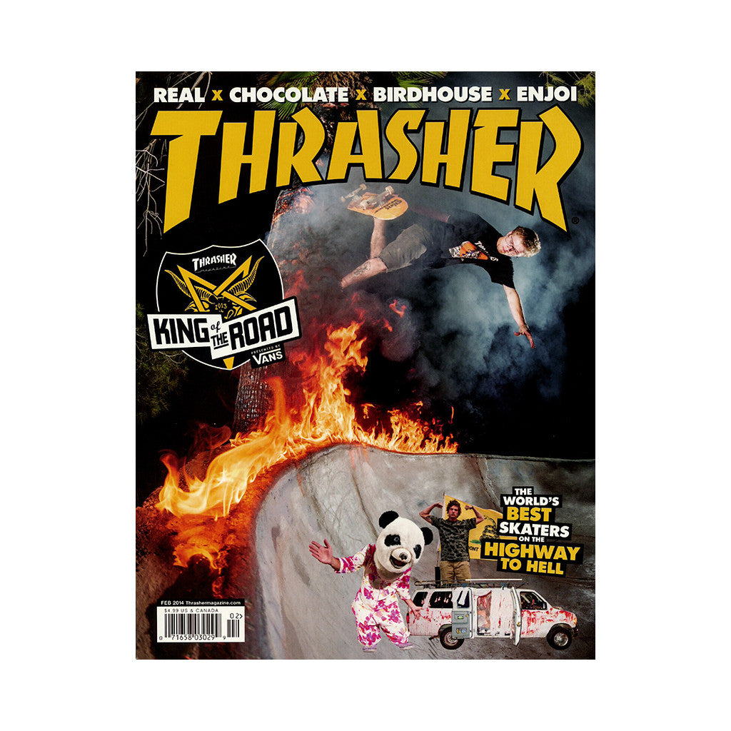 <!--020131220061771-->Thrasher Magazine - 'Issue 403, February 2014' [Magazine]