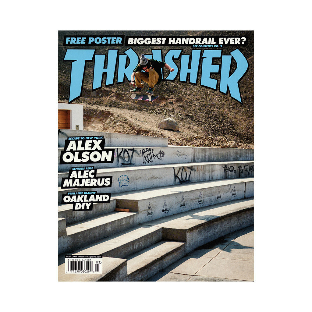 Thrasher Magazine - 'Issue 404, March 2014' [Magazine]