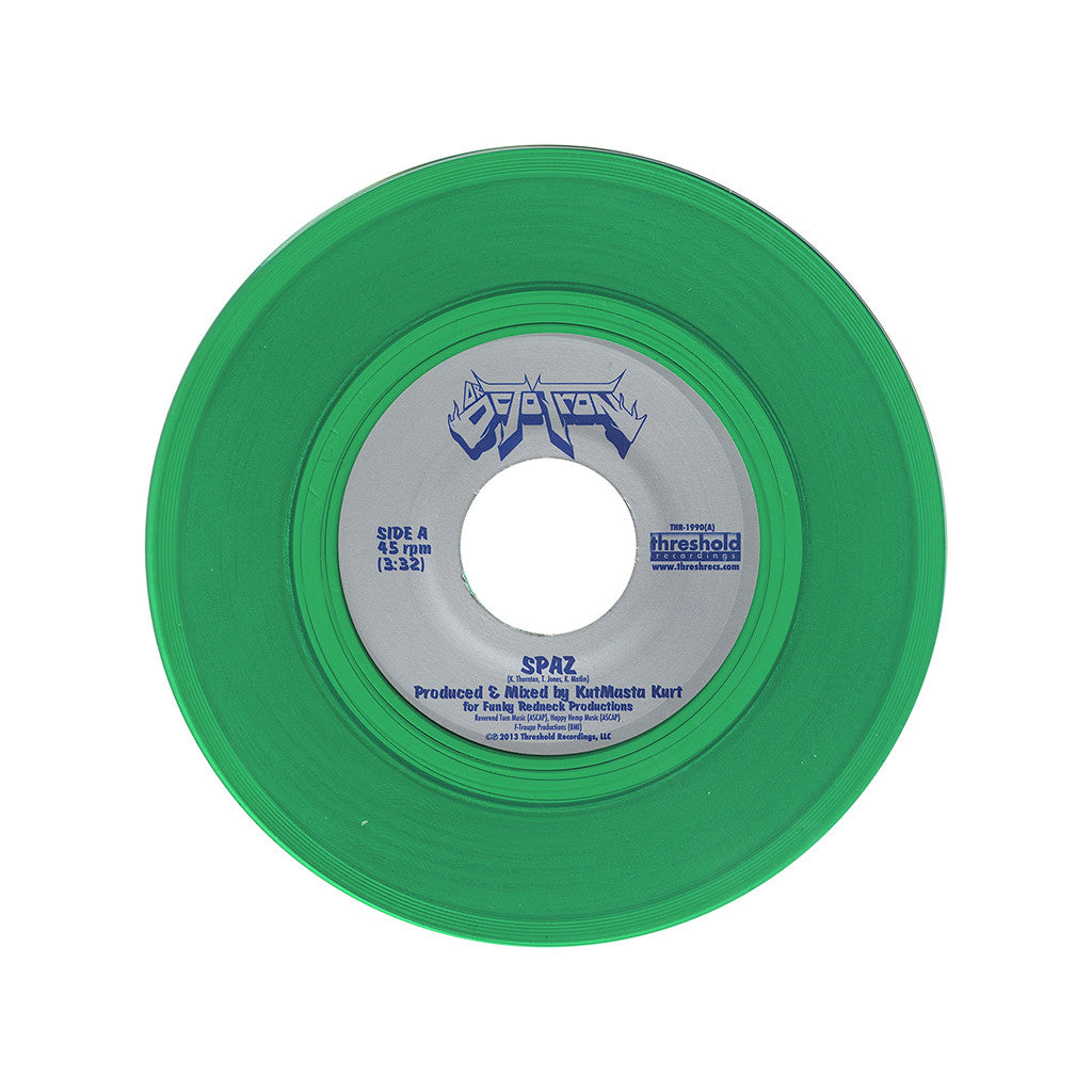 "Dr. OctoTron - 'Spaz/ Good Stuff' [(Clear Green) 7"" Vinyl Single]"