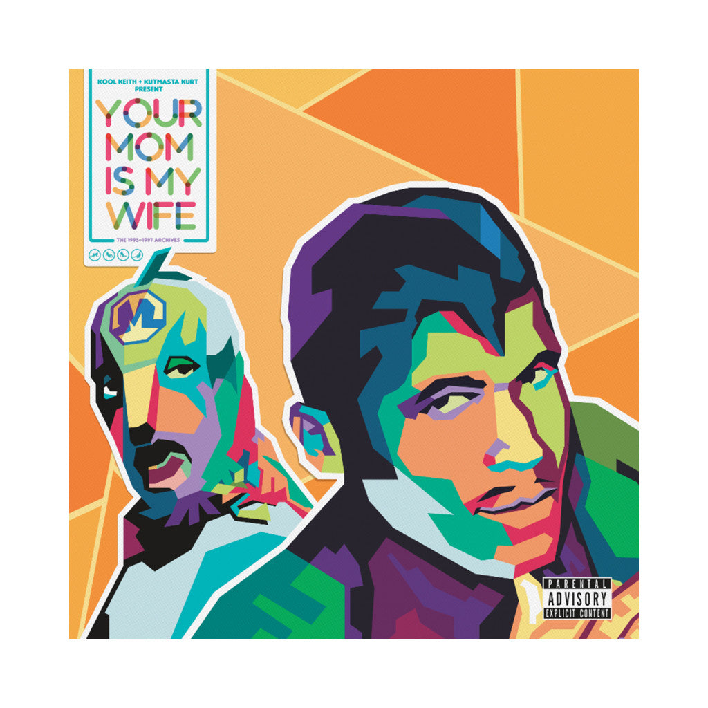 Kool Keith & KutMasta Kurt - 'Your Mom Is My Wife EP: The 1995-1997 Archives' [CD]