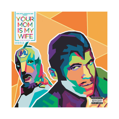Kool Keith & KutMasta Kurt - 'Your Mom Is My Wife EP: The 1995-1997 Archives' [(Black) Vinyl EP]