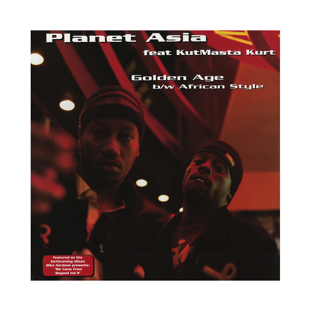 "Planet Asia - 'Golden Age/ African Style' [(Black) 12"" Vinyl Single]"