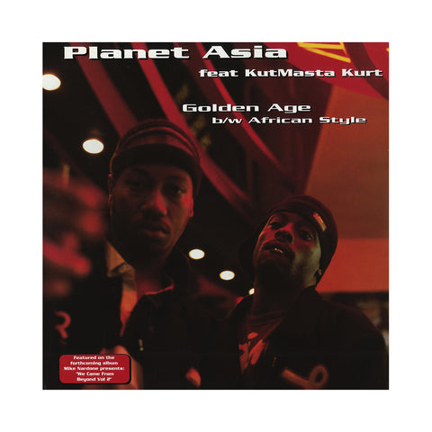"[""Planet Asia - 'Golden Age/ African Style' [(Black) 12\"" Vinyl Single]""]"