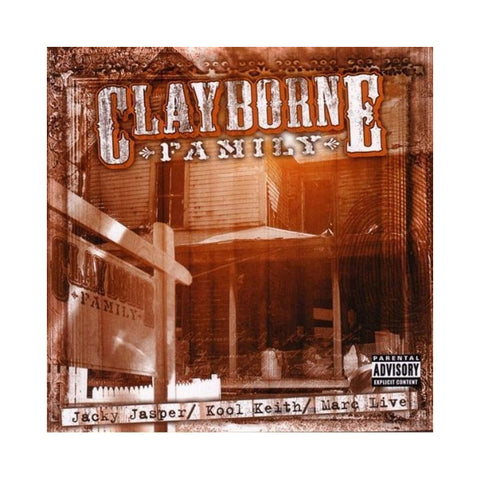 Clayborne Family - 'Clayborne Family (THIS IS A RE-STOCK)' [CD]