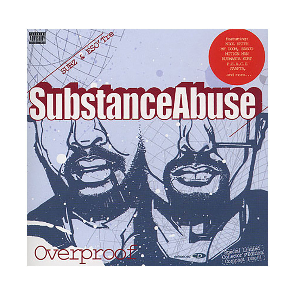 <!--120060418007064-->Substance Abuse - 'Overproof' [CD]