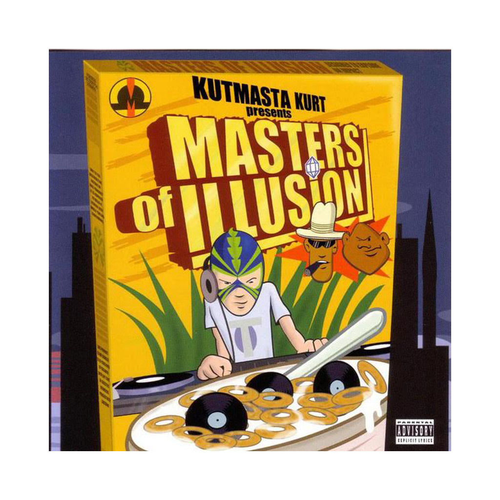 Masters Of Illusion - 'Masters Of Illusion (Instrumentals)' [CD]