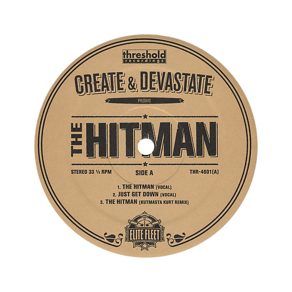 <!--2006021644-->Create & Devastate - 'The Hitman' [Streaming Audio]