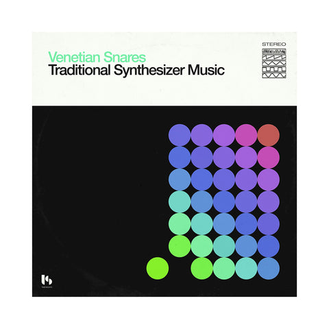 Venetian Snares - 'Traditional Synthesizer Music' [(Black) Vinyl [2LP]]