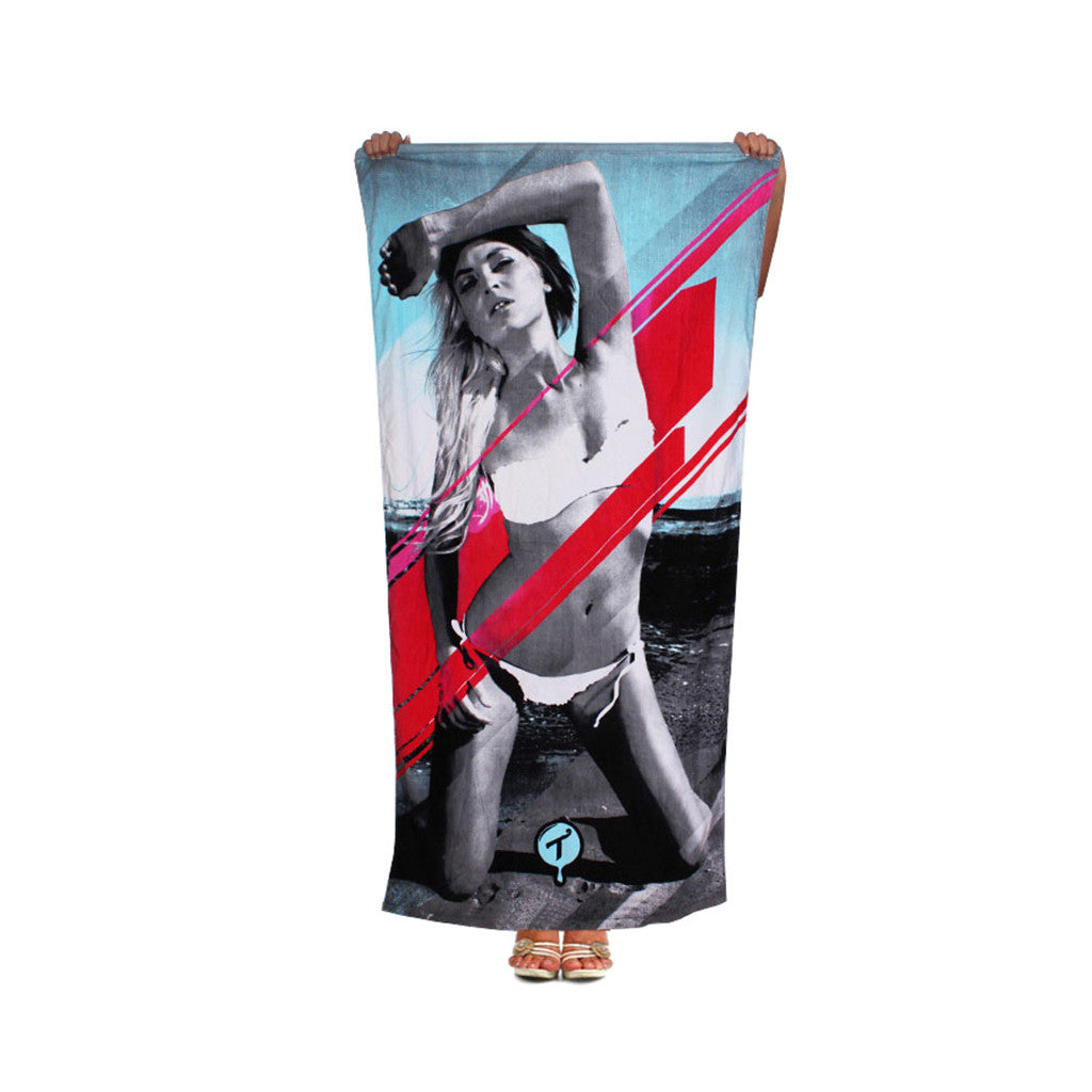 <!--020120710046641-->T.I.T.S. - 'Sun Kissed' [(White) Beach Towel]