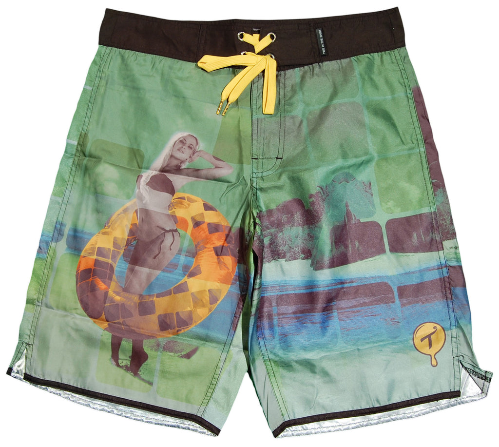 <!--2012072446-->T.I.T.S. - 'Sun Donut' [(Multi-Color) Shorts]