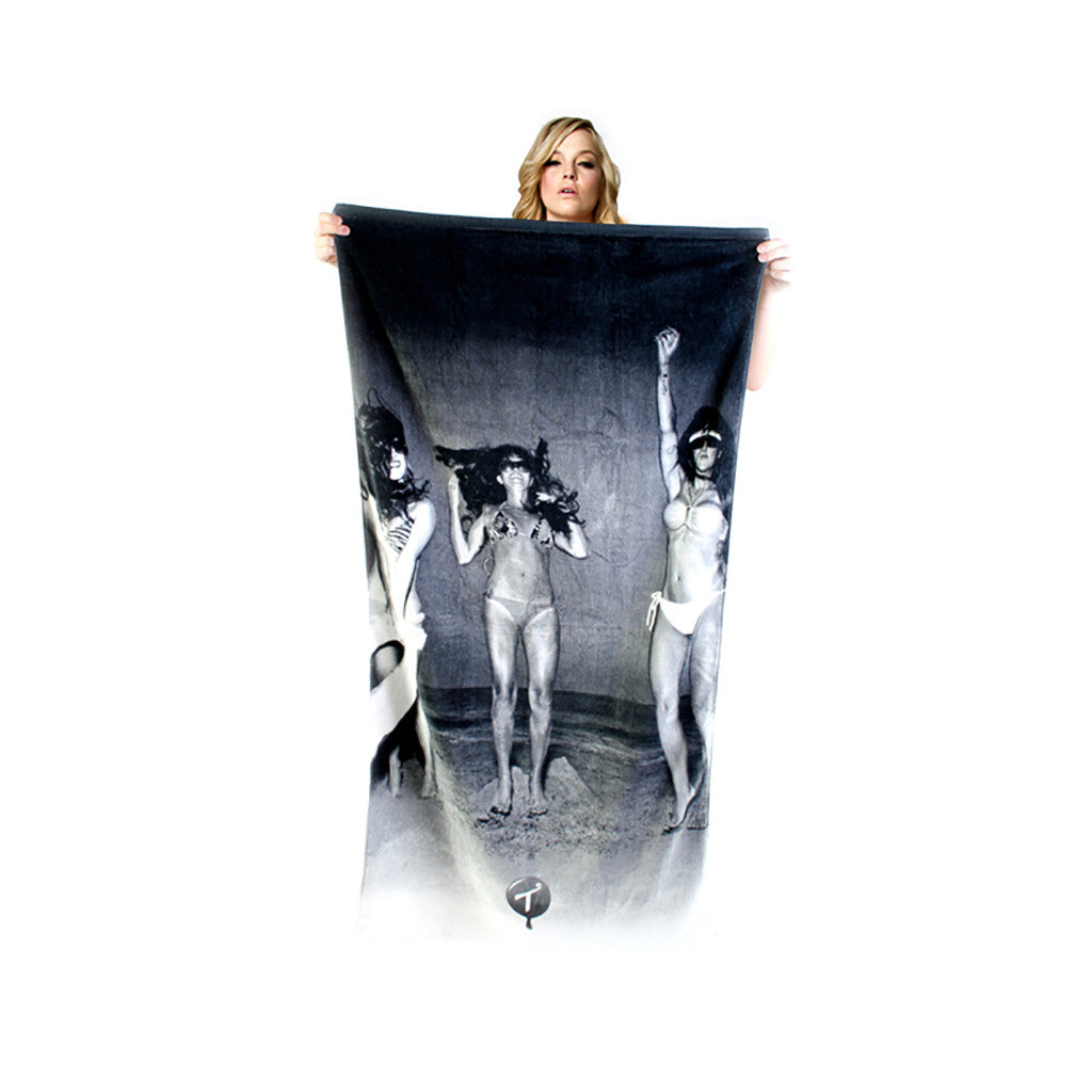 <!--020110531031375-->T.I.T.S. - 'Beach 2 - Threesome' [Beach Towel]