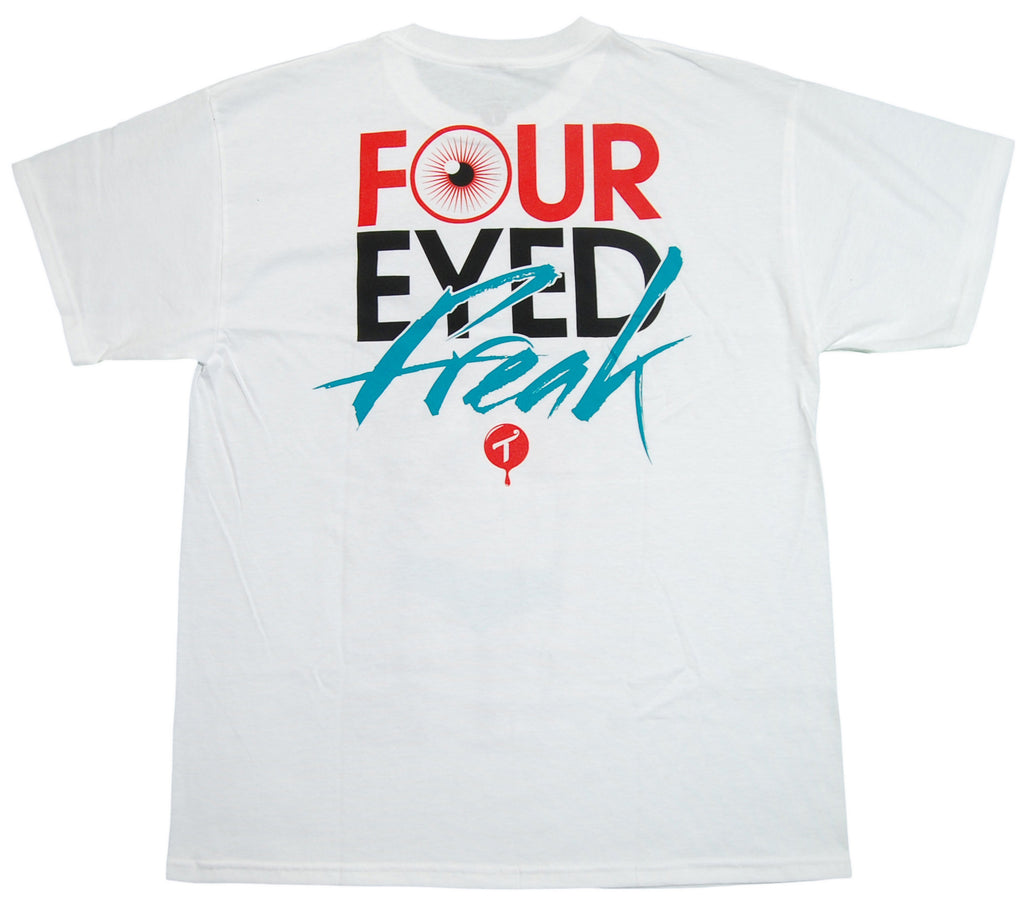 <!--2013021908-->T.I.T.S. x Erica Grisby - 'Four Eyed Freak' [(White) T-Shirt]